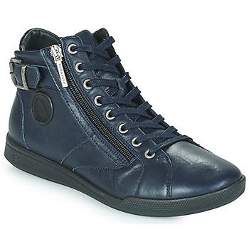 Schuhe Damen Sneaker High Pataugas PALME Marine