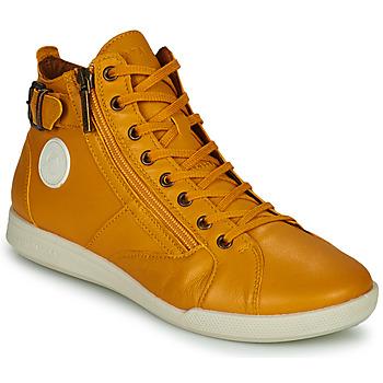 Schuhe Damen Sneaker High Pataugas PALME Ocker