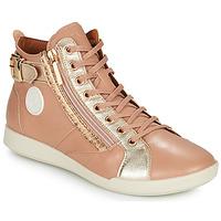 Schuhe Damen Sneaker High Pataugas PALME Beige / Beige / marine