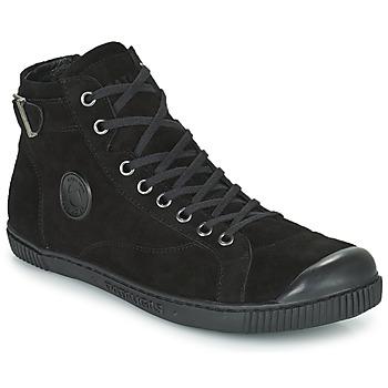 Schuhe Damen Sneaker High Pataugas LATSA Schwarz