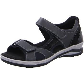 Schuhe Damen Sportliche Sandalen Fidelio Sandaletten Trekking Sandale HILLY 496023-30 schwarz