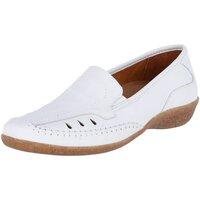 Schuhe Damen Slipper Aco Slipper Sabine 14 white weiß