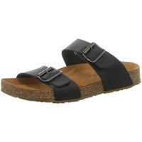 Schuhe Damen Pantoffel Haflinger Pantoletten ANDREA 819013 866 schwarz