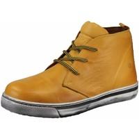 Schuhe Herren Sneaker High Cosmos Comfort Schnuerschuhe 6167502-6 gelb