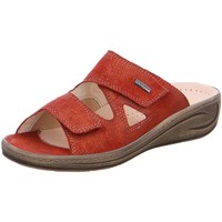 Schuhe Damen Pantoffel Fidelio Pantoletten 434113-46 rot