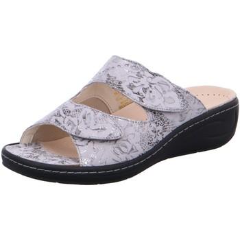 Schuhe Damen Pantoffel Fidelio Pantoletten 434029-51 grau