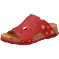 Schuhe Damen Pantoffel Think Pantoletten 3-000378-5000 rot