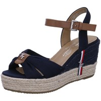 Schuhe Damen Sandalen / Sandaletten Tom Tailor Sandaletten 1190701 blau