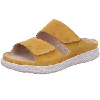 Schuhe Damen Pantoffel Hartjes Pantoletten Pantolette 122022-71 gelb