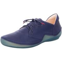 Schuhe Damen Derby-Schuhe Think Schnuerschuhe 3-000204-8000 blau