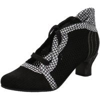 Schuhe Damen Pumps Simen Schnürpumps 3701A schwarz
