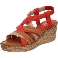 Schuhe Damen Sandalen / Sandaletten Marila Colours Sandaletten 1154 BA-35 CU MULTIROT rot