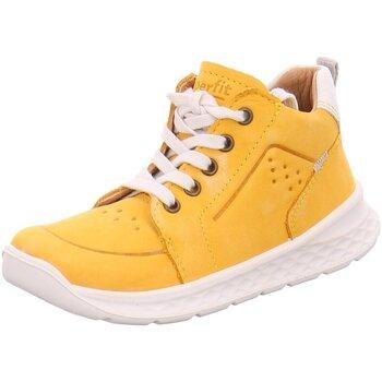 Schuhe Jungen Sneaker High Superfit Stiefelette 1-000366-6000 gelb