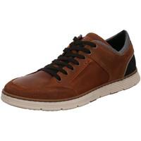 Schuhe Herren Sneaker Low Bullboxer Schnuerschuhe 628K26025A CGBK braun