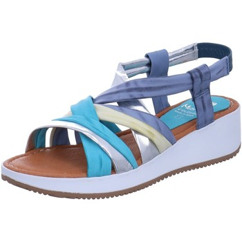 Schuhe Damen Sandalen / Sandaletten Marila Colours Sandaletten 1154 LU 35 CER MULTIAZUL blau