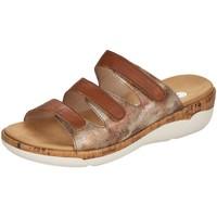Schuhe Damen Pantoffel Remonte Dorndorf Pantoletten R6851-24 braun