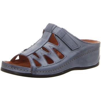 Schuhe Damen Pantoffel Gemini Pantoletten 003176-02/808 blau