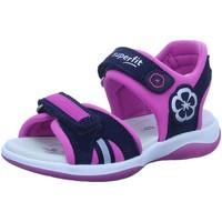 Schuhe Mädchen Sportliche Sandalen Superfit Maedchen 1-606127-8010 blau