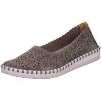 Schuhe Damen Slipper Scandi Slipper 221-0014-C1 grau
