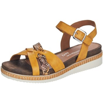 Schuhe Damen Sandalen / Sandaletten Remonte Dorndorf Sandaletten R4551-68 gelb