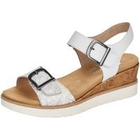 Schuhe Damen Sandalen / Sandaletten Remonte Dorndorf Sandaletten R6152-81 weiß