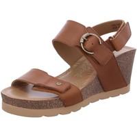 Schuhe Damen Sandalen / Sandaletten Panama Jack Sandaletten Velvet B3 Pull-Up Camel braun