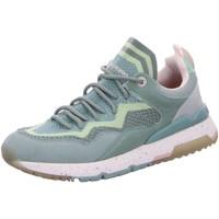 Schuhe Damen Sneaker Low Dockers by Gerli Slipper Halbschuh 48JL201-702880 grün