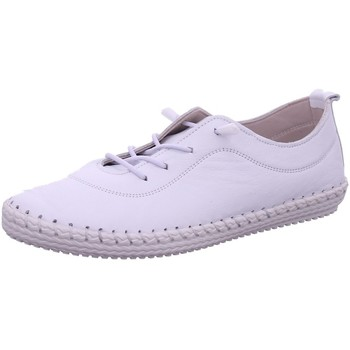 Schuhe Damen Sneaker Low Cosmos Comfort Schnuerschuhe 6143401-1 6143401-1 weiß