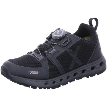 Schuhe Damen Sneaker Low Vado Sportschuhe 33342-AIR LOB/001 schwarz