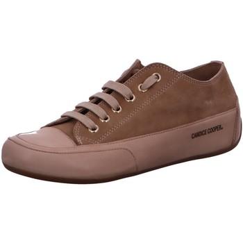 Schuhe Damen Sneaker Low Candice Cooper Schnuerschuhe 0E05 CAPPUCCINO beige