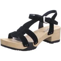Schuhe Damen Sandalen / Sandaletten Softclox Sandaletten 3536 Piera schwarz