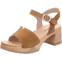 Schuhe Damen Sandalen / Sandaletten Softclox Sandaletten caramel S 3541 Hanny braun