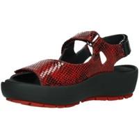 Schuhe Damen Sandalen / Sandaletten Wolky Sandaletten RIO RETRO LEATHER 0332598-500 rot