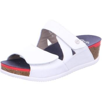 Schuhe Damen Pantoffel Ara Pantoletten 12-38204-79 weiß