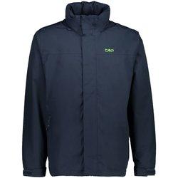 Kleidung Herren Windjacken Cmp Sport MAN RAIN SNAPS HOOD JACKET 39X7367-N950 blau