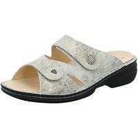 Schuhe Damen Pantoffel Finn Comfort Pantoletten Torbole Pantolette 02571/699150 weiß