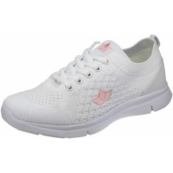 Schuhe Mädchen Sneaker Low Lico Schnuerschuhe -rosa 590410 weiß