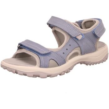 Schuhe Damen Sportliche Sandalen Rohde Sandaletten Sandalette 5380 52 blau