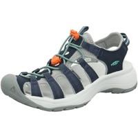 Schuhe Damen Wanderschuhe Keen Sandaletten Astoria West Sandalette 1023587 blau