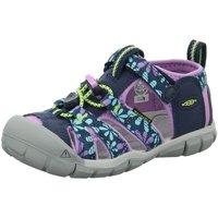 Schuhe Mädchen Sandalen / Sandaletten Keen Schuhe Seacamp II CNX Sandale 1025149+1025136 blau