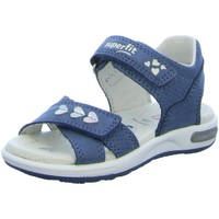 Schuhe Mädchen Sandalen / Sandaletten Legero Schuhe Sandale Leder \ EMILY 1-006132-8000 blau