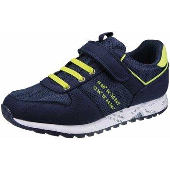 Schuhe Jungen Sneaker Low Richter Schnuerschuhe 7650-1172-7202 blau