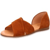 Schuhe Damen Sandalen / Sandaletten Apple Of Eden Sandaletten CHIUSI 10 COGNAC braun