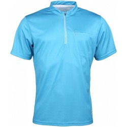 Kleidung Herren T-Shirts High Colorado Sport NOS BIKE-M, Mens Zip Shirt,bluejay 1066062 blau