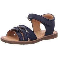 Schuhe Mädchen Sandalen / Sandaletten Bisgaard Schuhe 70293.121-1426 midnight 70293.121-1426 blau