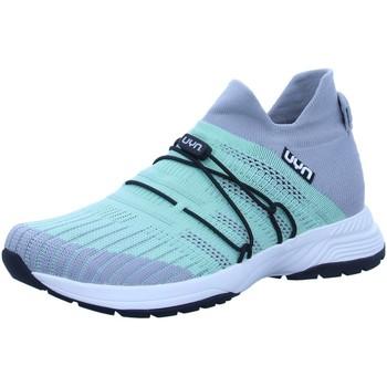 Schuhe Damen Sneaker Low Uyn Slipper Free-Flow Y100012-E637 grün