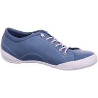 Schuhe Damen Sneaker Low Andrea Conti Schnuerschuhe 1881719-013 blau