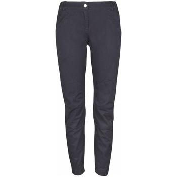 Kleidung Damen Chinohosen High Colorado Sport WANAKA-L, Lds. Stretchy Pants,anthr 1066283 schwarz