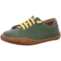 Schuhe Jungen Derby-Schuhe Camper Schnuerschuhe Peu Cami Kids 80003-121 grün