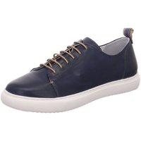 Schuhe Damen Sneaker Low Everybody Schnuerschuhe Geglia Schnürschuh 19460P1258-199 blau